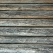 Stock Photo: Old log wall background