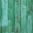 Stock Photo: Green peeled wooden background