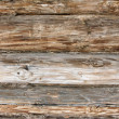 Log country house wall — Stock Photo