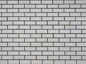 White brick wall background — Стоковое фото