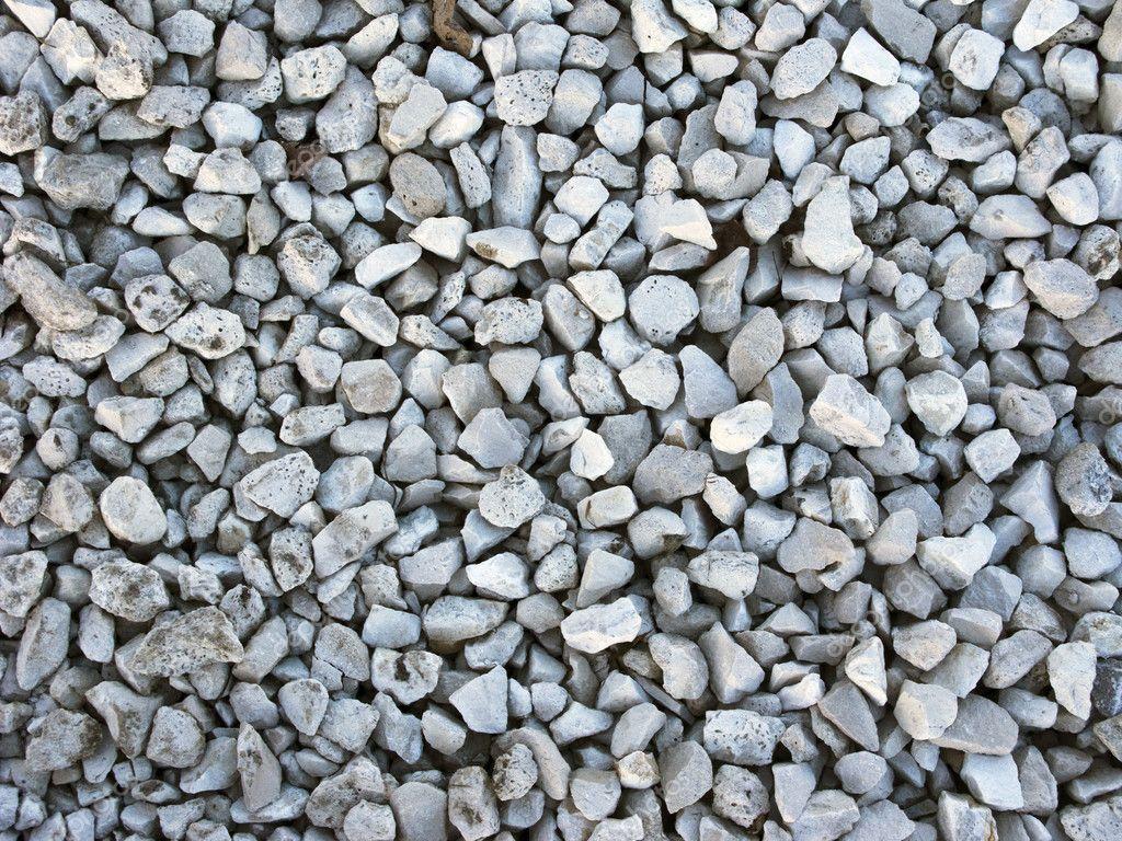 Crushed Stone Sizes Standard : Crushed stone background — stock photo viknik