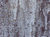 Rusty white colored steel background — Stock Photo
