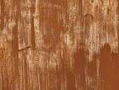 Ochre rusty iron background — Stock Photo