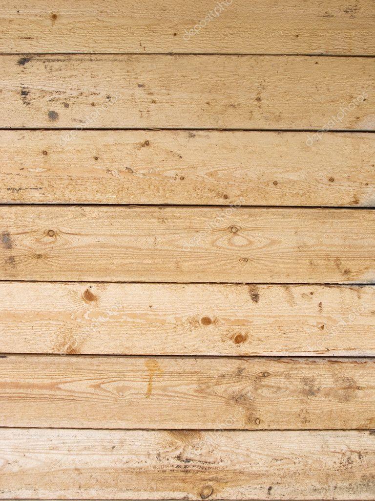 Da vicino della parete di asse di legno incolore — Foto Stock ...