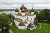 Christmas cathedral in Kargopol — Stock Photo