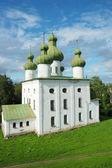 Medieval cathedral in Kargopol, Russia — Stok fotoğraf