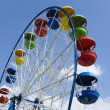Stock Photo: Fairground Wheel