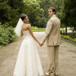 Newlywed — Stockfoto