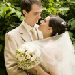 Stock Photo: Newlywed