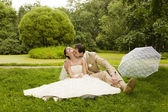 Newlywed — Foto Stock