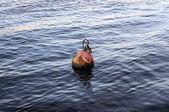 Ancient ship buoy — Stock Photo