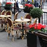 Sidewalk cafe — Stock Photo #1312076