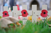 Remembrance Day in Westminster Abbey — Stock Photo
