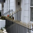 Stock Photo: White terraced houses