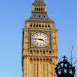 Big Ben - the famous symbol of London — Stock Photo #1592153