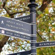 Signpost in London — Stock Photo #1592206