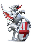 City of London Dragon — Stock Photo