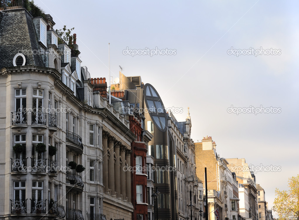 Houses of London — Stock Photo #1592230