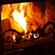 Royalty-Free Stock Photo: Fireplace