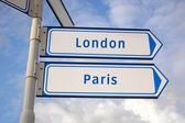 London and paris — Stock Photo