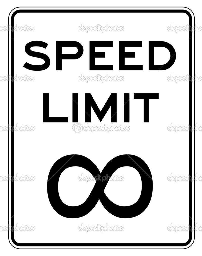 Speed limit sign — Stock Photo #1127043