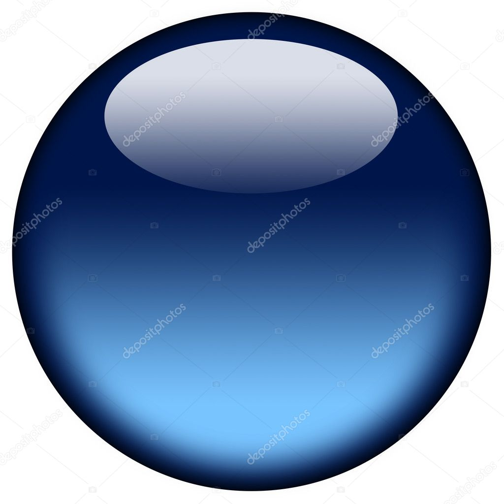 Glowing blue ball  Stock Photo #1127552