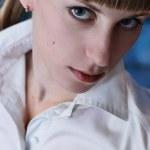 Portrait of beautiful model — Stock Photo