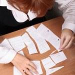 Businesswoman stress — Stock Photo #1185783