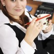 At work in the office — Stock Photo