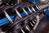 Bodybuilding equipment — Stock Photo