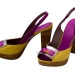 Womanish shoes — Stock Photo #1117336