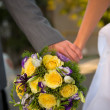 Wedding flowers - Foto Stock