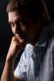 Genç bir adam portresi — Stok fotoğraf