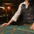 Roulette table in casino — Stock Photo #1135654