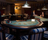 Modern casino interior — Stock Photo