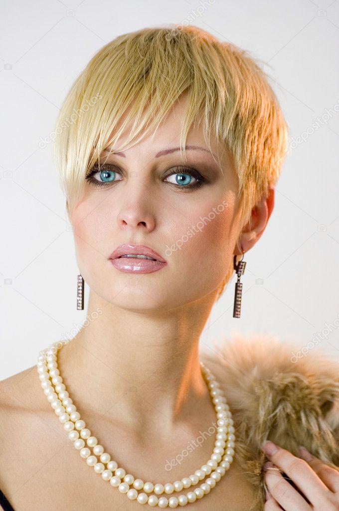 не короткие стрижки модельные женские фото