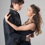 Young happy amorous couple — Stock Photo