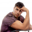 Strong healthy man - Foto Stock