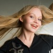 Young attractive blond girl — Stock Photo