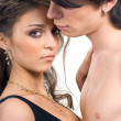 Young sweet couple in love — Stockfoto