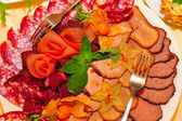 Meat platter — Stock Photo