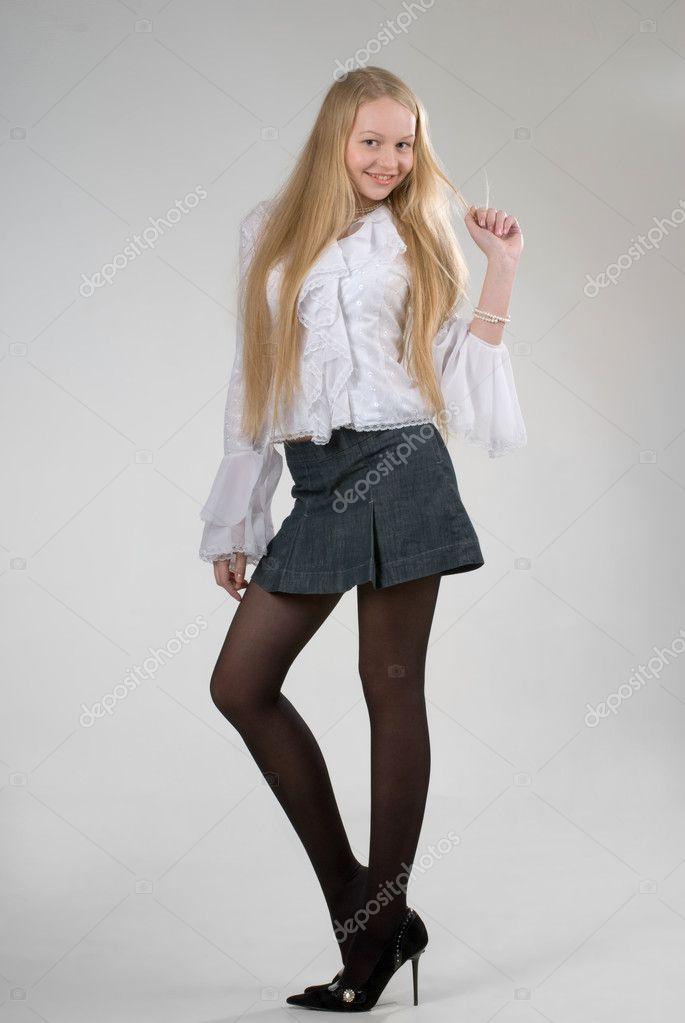 Mature teacher with mini skirt fucked in class 6