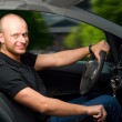 Royalty-Free Stock Photo: Driving in city
