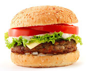 Cheeseburger — Stockfoto