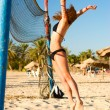 Beach volleyball — Stock Photo #1124662