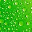 Water drops on glass — Stock Photo #1124807