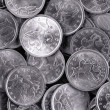 Royalty-Free Stock Photo: Silver coins