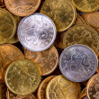 Royalty-Free Stock Photo: Coins background