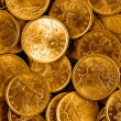 Golden coins — Stock Photo #1125262