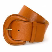 Brown belt — Stock Photo